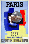 Poster   Paul Colin  Paris  Exposition Internationale  Mai Novembre  1937