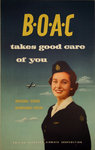 Poster BOAC  Takes Good Care Of You  1954  Anonymous