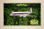Poster Vickers Viscount   Air France   1953  Lucien Boucher