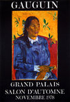Poster Gaugin  Paul     Grand Palais  Museum  1978