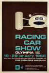 Affiche Racing Car Show  1966  Present By The Britsh Racing and Sports Car Club