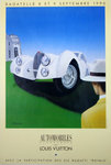 Poster  Bagatelle  1990   Automobile Classique L Vuitton   Razzia