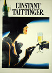 Poster L'Instant Taittinger  Champagne Annonymous