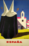 Affiche  Espana  1954  Guy Georget