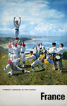 Affiche  France Danseurs  au Pays Basque  1962  Photo  Fronval