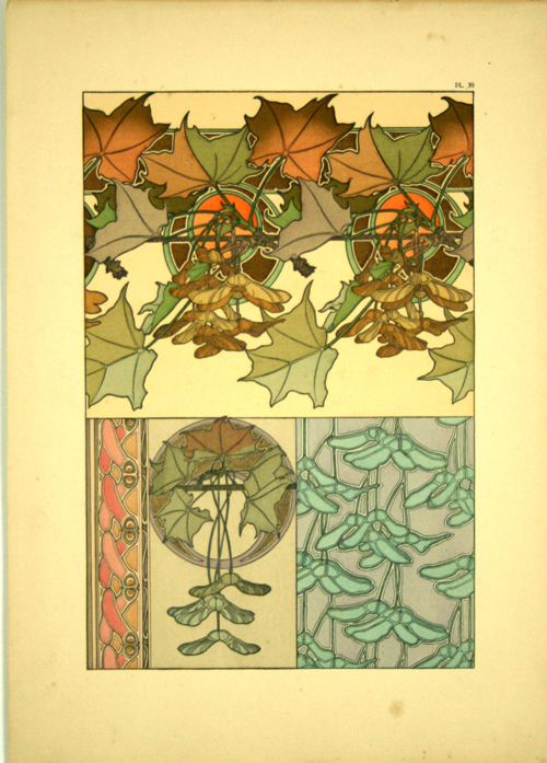 Plate 39 documents d coratifs 1902 alphonse mucha www for Poster decoratif