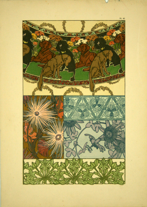 Plate 42 documents d coratifs 1902 alphonse mucha www for Poster decoratif