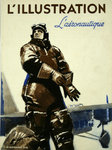 Poster    Magazine Cover     L'Illustration  L'Aeronautique    1936  A Brenet