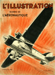 Poster    Magazine Cover     L'Illustration  L'Aeronautique    1932  Geo Ham
