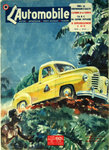 Poster  Geo Ham  The Car  March 1951   Pick Up   Renault