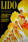 Poster   Rene Gruau  Lido   Grand Jeu   BlueBell  Girls   1982