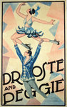 Affiche  Droste and Peggy   Roller Skating Dance   Circa 1920  Anonyme