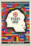 Affiche Paris Exposition Internationale  1937  Jean Carlu