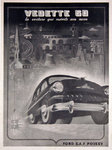 Poster   Vedette 50    Ford  Circa 1930   L'Illustration