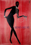 Poster  Musidora  1953  Gruau   Edition of  Desastre