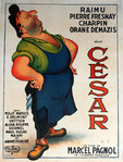 Poster  Cesar   Marcel Pagnol   1936   Dubout