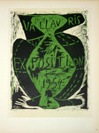 Lithography  Picasso Pablo  Expos  Vallauris  1954  Original Posters Masters of School of Paris 1959