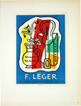 Lithography  Leger Fernand  Gallery Louis Carré 1953   Posters Masters of School of Paris 1959