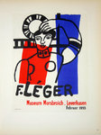 Lithography Leger Fernand Museum Morsbroich Leverkussen 1955 Posters Masters of School of Paris 1959