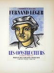Lithography  Leger Fernand  Les Constructeurs  1951   Posters Masters of School of Paris 1959