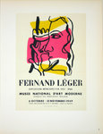 Lithography  Leger  Fernand Musée d'Art Moderne 1949   Posters Masters of School of Paris 1959