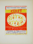 Lithography  Picasso  Musée Municipal Céret 1958  Original Posters Masters of School of Paris 1959