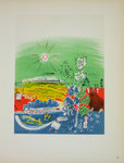 Lithography  Raoul Dufy  Exposition d'Art Français 1939  Posters Masters  of School of Paris 1959