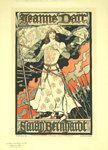 Poster Jeanne D'Arc  Eugéne Grasset  1898  The Masters Poster Plate 174