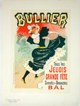 Lithograph   Bullier Bal  Georges Meunier 1899  The Masters Poster Plate 147
