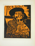 Lithography  Picasso Toros   1958   Original Posters Masters of School of Paris 1959