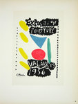 Lithography Picasso  Exposition Vallauris  1956  Original Posters Masters of School of Paris 1959