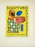 Lithography  Leger  Fernand  Sculptures Polychromes  1953 Poster Masters of Scool of Paris 1959