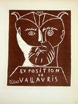 Lithography  Picasso Exposition de Vallauris  1955  Original Posters Masters of School of Paris 1959