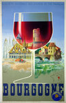 Poster  Bourgogne  French Railways  1939