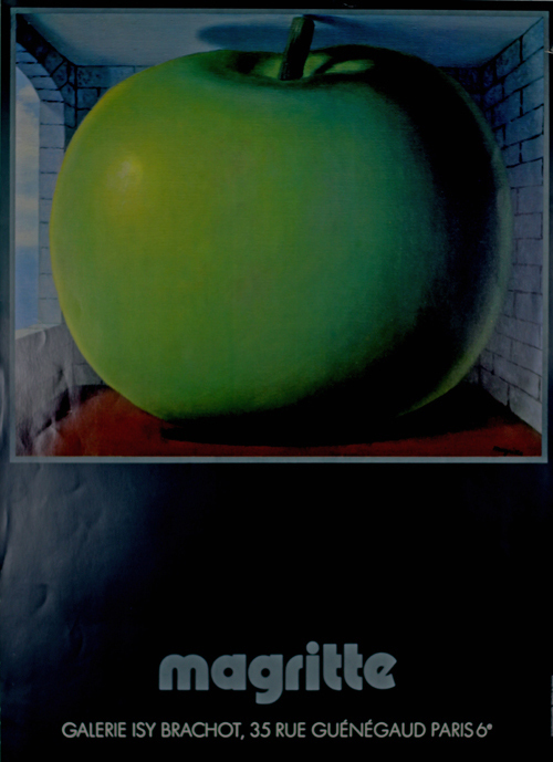 Poster magritte rene la chambre d 39 ecoute galerie isy for Chambre d ecoute