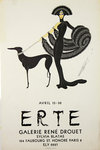 Poster  Erte  Romain de Tirtoff   Rene Drouet  Gallery 15 / 30 April1968