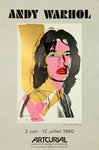 Poster Warhol Andy   Mick Jagger     Artcurial  1980