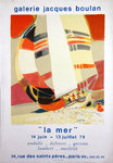 Poster Ambille  Paul  The See  Jacques Boulan   Gallery 1979