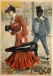 Vintage Poster   The Frisco  Louis Galice  1905