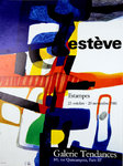 Poster   Esteve  Maurice  Estampes    Tendances Gallery  1986