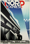 Poster  Nord Express   AM Cassandre   Reedition  Print By Bedos 1980