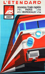 French Railways Poster   L'Etendard 1968  J B  Bosvieux