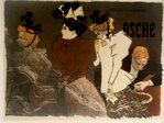 Lithography   Asche   Theophile Alexandres  Steinlen   1895
