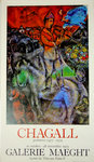 Affiche  Chagall Marc  Galerie Maeght  Octobre Novembre 1979