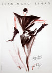 Poster  Sinan  Jean Marc  Fashion  Automne  Winter  1984  1985