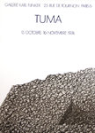 Poster   Tuma Peter   Karl  Flinker   Gallery   October november 1974