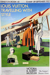 Poster   Razzia  Louis Vuiton Traveling With Style  Victoria and Albert Museum  Exhibition  1985