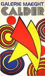 Poster  Calder Alexandre    Triangles et Spirales    Maeght Gallery    1973