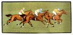 Lithography   Horse Race  Annonymous