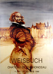 Poster  Weisbuch  Claude     Chenonceau  Casle   June  October  1988